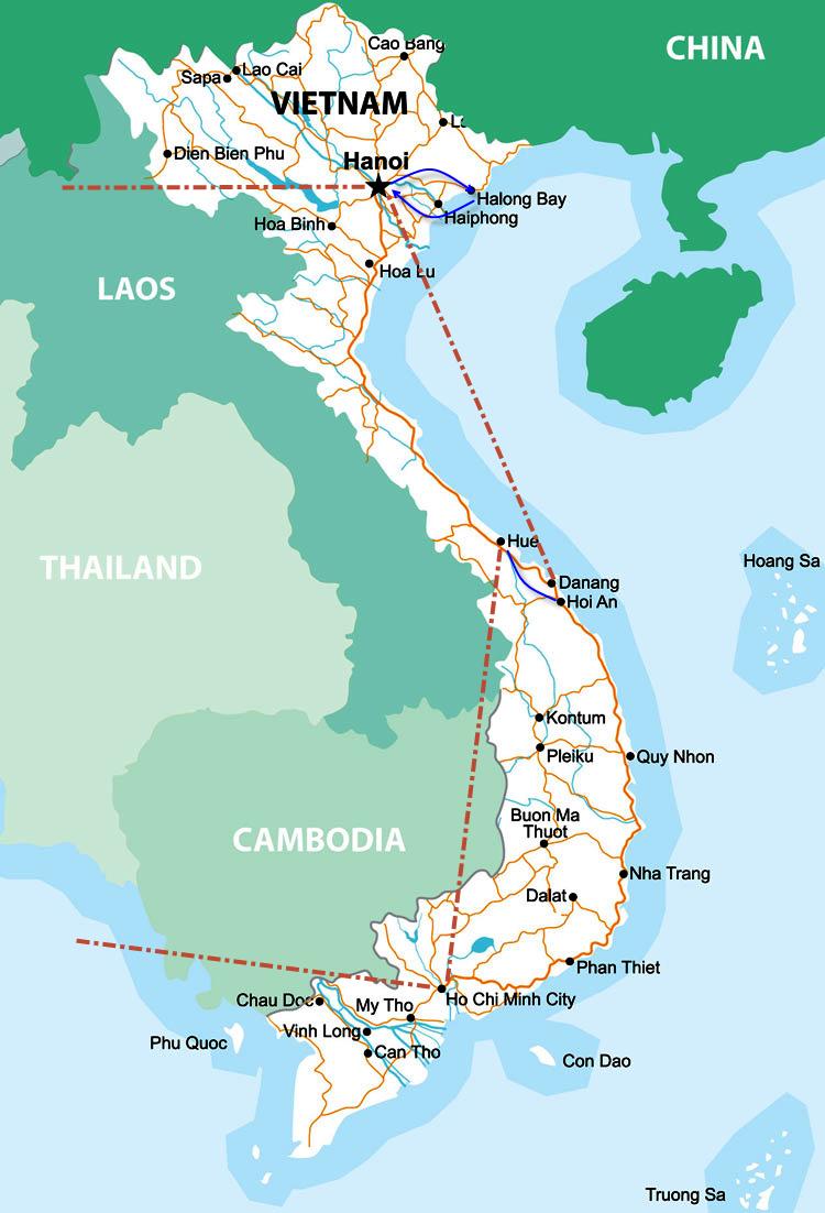 Vietnam Rundreise 2 Wochen Mit Eigenem Reisefuhrer Und Fahrer
